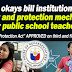 """Teachers Protection Act"" APPROVED on third and final reading"
