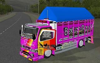 Mod Bussid Truck Canter Berkah Rawit Terbaru
