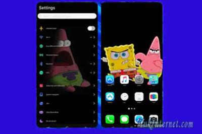 tema vivo spongebob ios