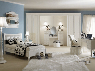 bedroom design bed girl