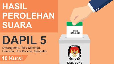 Ini Caleg Terpilih DPRD Kabupaten Bone Dapil 5 Hasil Rekapitulasi KPU