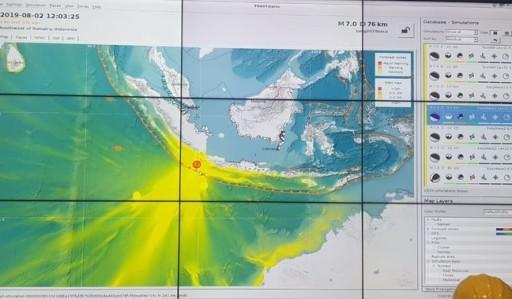 BMKG : Kemungkinan Tsunami, Akibat Gempa Banten Cukup Besar