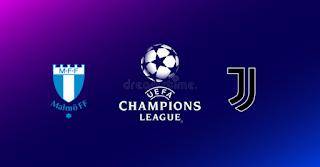 Malmo FF vs Juventus Live