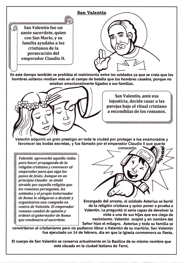 La Catequesis (El blog de Sandra): Resursos Catequesis San Valentín ...