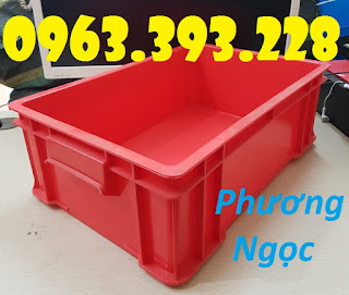 20180407 114427 Thùng nhựa có nắp, thùng nhựa B4, hộp nhựa công nghiệp