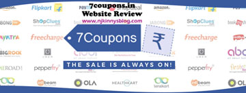 Website Review: 7coupons for free coupons and offers for online purchases- Njkinny's Blog
