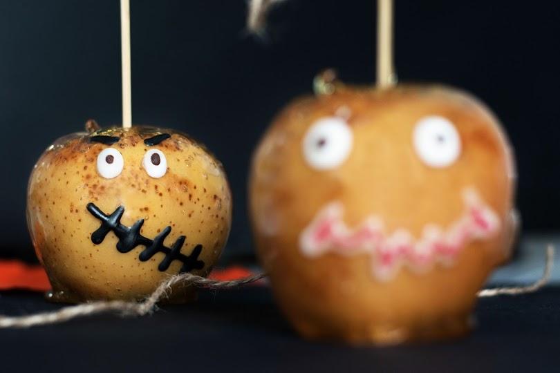recette Pomme d'amour halloween