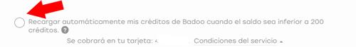 solucion cobro badoo