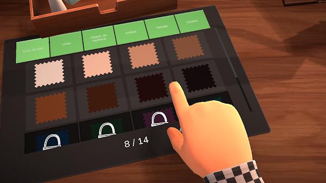 Análisis Table Manners simulador de citas en PC