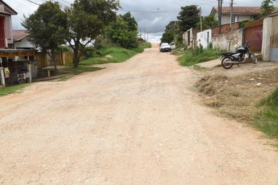 Rua do Bom Senhor recebe ordem de serviço para pavimentação