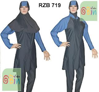baju renang muslimah RZB 719