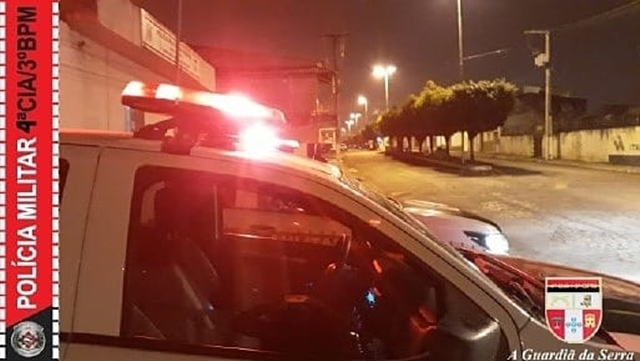 POLÍCIA MILITAR PRENDE SUSPEITO DE TENTATIVA DE HOMICÍDIO MINUTOS APÓS O CRIME
