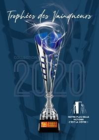 Catalogue Trophées des Vainqueurs 2020 : Coupes, Médailles, Trophées.