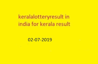 kerala lottery win win  kerala lottery result chart