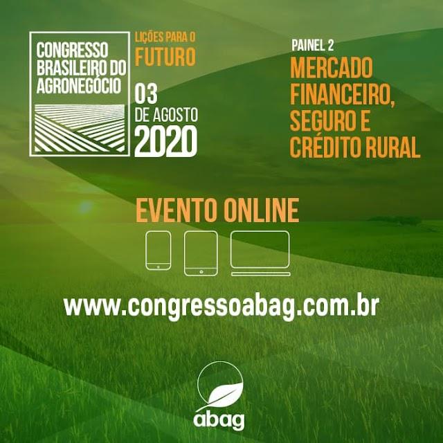 Congresso Brasileiro do Agronegócio contará com nomes notáveis para tratar do tema Lições para o Futuro