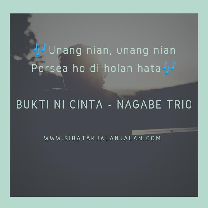 Chord Lagu Batak 'Buktini Cinta' Nagabe Trio Lagu Batak Terbaru 2021