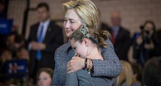 """Hillary Clinton: """"Pase lo que que pase esta noche, estoy agradecida"""""""
