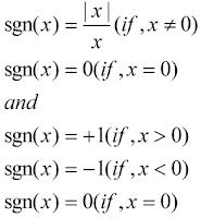 signum-function