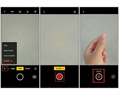 Membuat Video Slow Motion Di Ponsel Realme Tanpa Aplikasi