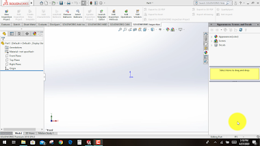 Design of Hollow pipe using Solidworks