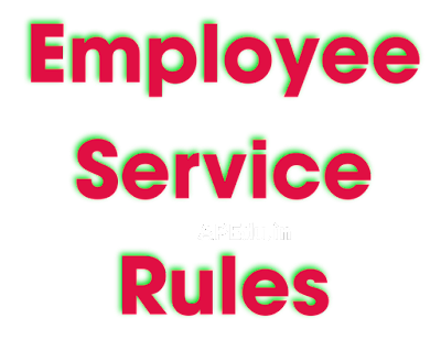 Employee Service Rules