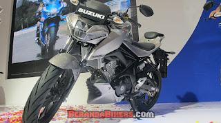 IMOS 2016: Suzuki launching GSX 150 versi Naked dan Sport