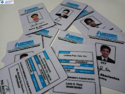 PVC ID Cards - Antonia Auto Body Painting Shop