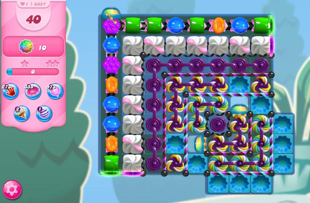 Candy Crush Saga level 8327