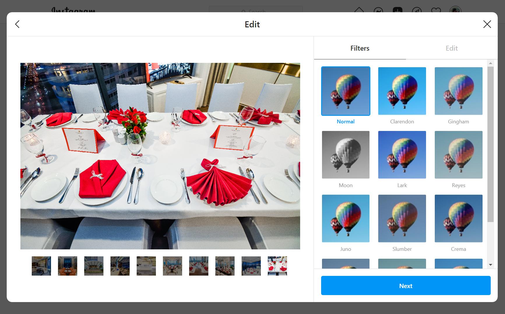 Instagram chính thức hỗ trợ upload ảnh từ trình duyệt trên máy tính