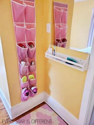 A Minimalist Montessori Girl's Room: Self-Care Corner