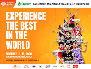 Live Streaming Badminton Asia Team Championships (BATC) 2020