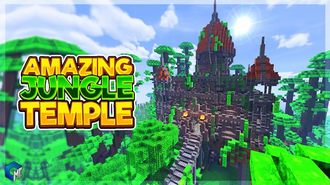 AMAZING JUNGLE TEMPLE (Mapa/Construcción)