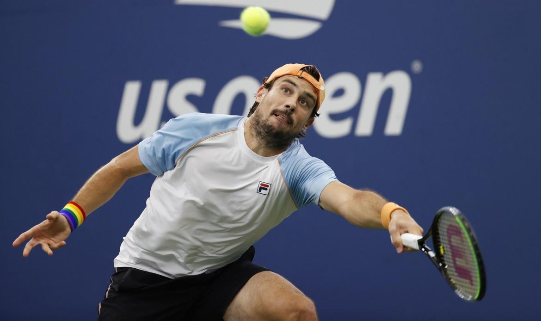 Guido Pella no pudo ante la potencia de Tiafoe y quedó eliminado del US Open