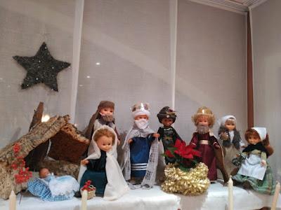 Belen navideño nancy famosa