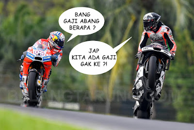 Gaji Pelumba MotoGP