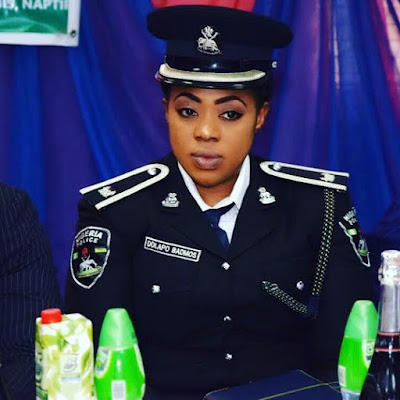 Lagos Police PRO Dolapo Badmos receives CRAN Award (see photos)