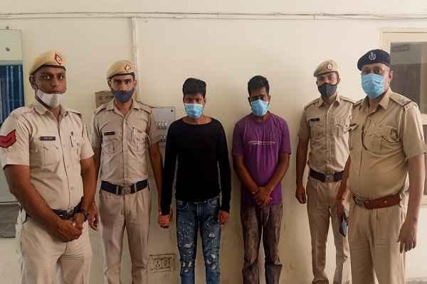 faridabad-mujesar-thana-police-arrested-snatcher-ravi-vinay