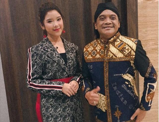 Tiara Idol dan Didi Kempot-IGtiaraandini