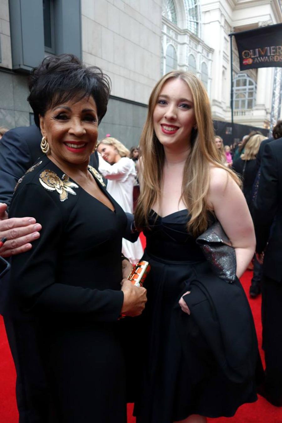Dame Shirley Bassey Olivier Awards London 2016