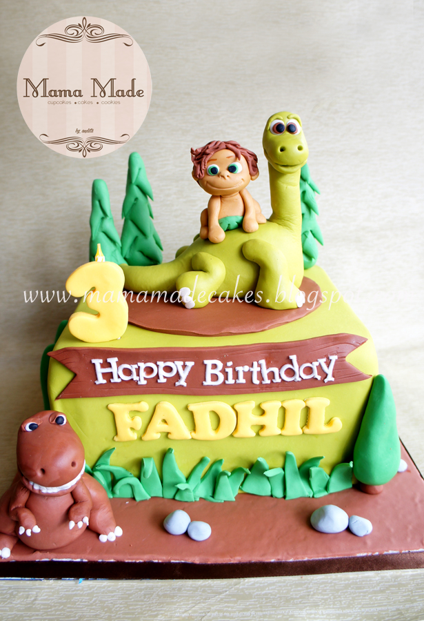 The Good Dinosaur Cake Mama Made Cakes