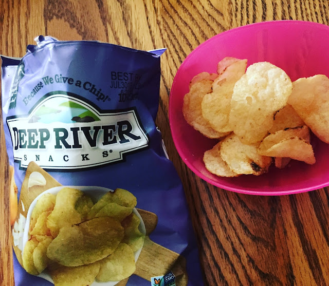 Deep River Snacks Sweet Maui Onion Potato Chips one of the treats in May's Degustabox