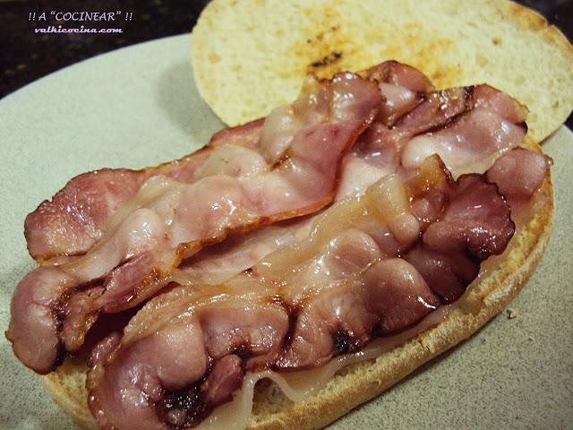 Bacon rápido en el microondas