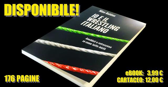 Il libro di Nino Baldan sulla nascita del wrestling italiano