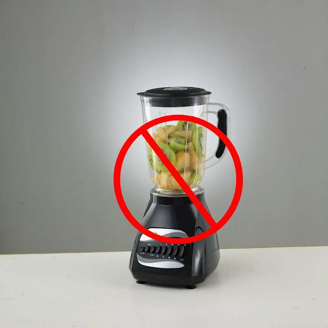 No centrifugal juicer