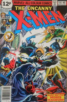 Uncanny X-Men #119, Moses Magnum