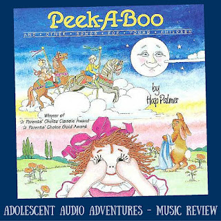 Adolescent Audio Adventures reviews Hap Palmer's Peek-a-Book and Other Songs for Young Children CD