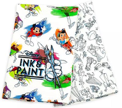 Disney Ink & Paint Kitchen Towel Set