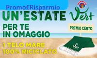 Logo Chanteclair Vert '' Un'estate Vert'' : telo mare come regalo sicuro! Come riceverlo