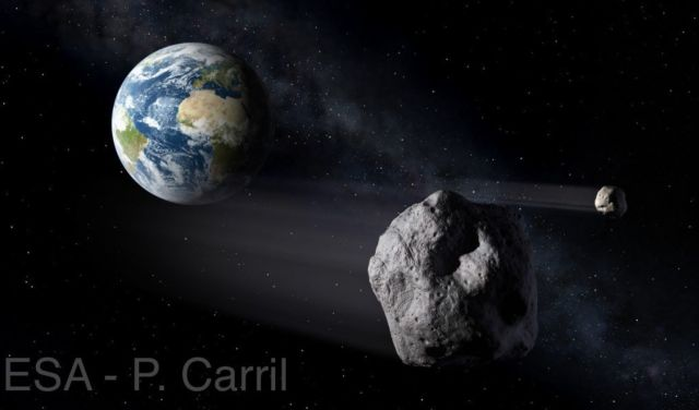 Astrophysicist Neil DeGrasse Tyson says asteroid could hit US day before Election  Asteroid-earth