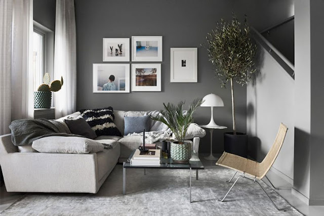 Blog Achados de Decoração, pequeno apartamento decor masculina